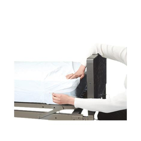 "Graham-Field Plastic Mattress Covers,Zippered Cover encloses mattress completely,76"" x 36"" x 6"",Each,3862"