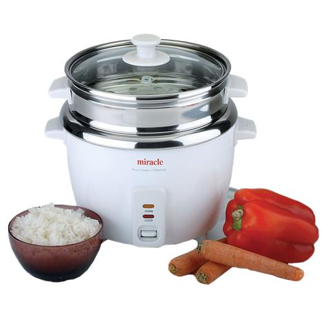 Miracle Stainless Steel Rice Cooker,Rice Cooker,Each,ME81 MREME81