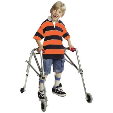 Kaye Posture Control Four Wheel Walker With Installed Silent Rear Wheel For Adolescent