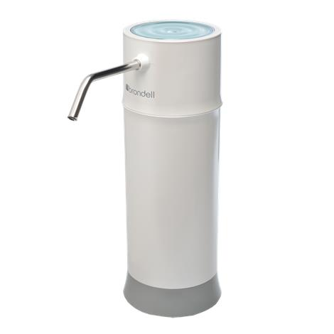 """Brondell H2O Plus Pearl Countertop Water Filtration System,3.75""""W x 11.25""""H x 3.75""""D,Each,H625 BRIH625"""