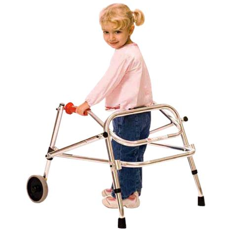 Kaye Wide Posture Control Two Wheel Walker For Youth