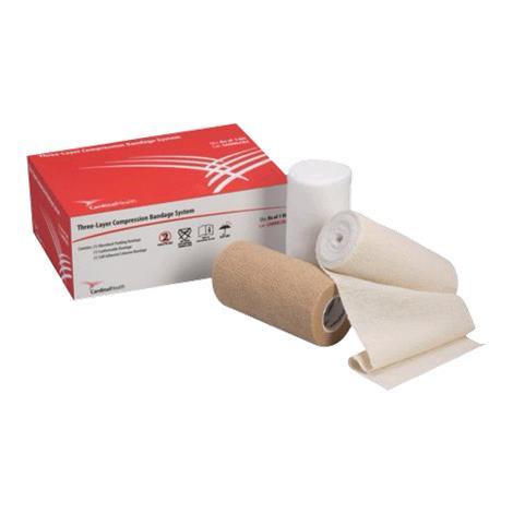 Cardinal Health Three Layer Compression Bandage System,Compression Bandage System,8/Pack,CAHMLCB3