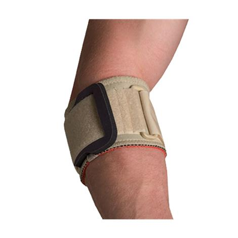 Image of Thermoskin Tennis Elbow Strap With Pad,Large,Beige,Each,85205