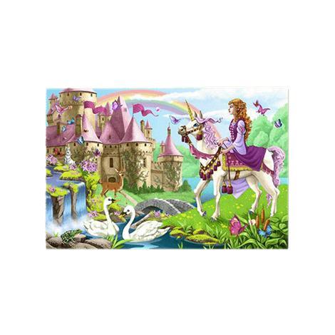 Melissa & Doug Fairy Tale Castle Floor Puzzle,24L x 36W (Assembled),Each,4427