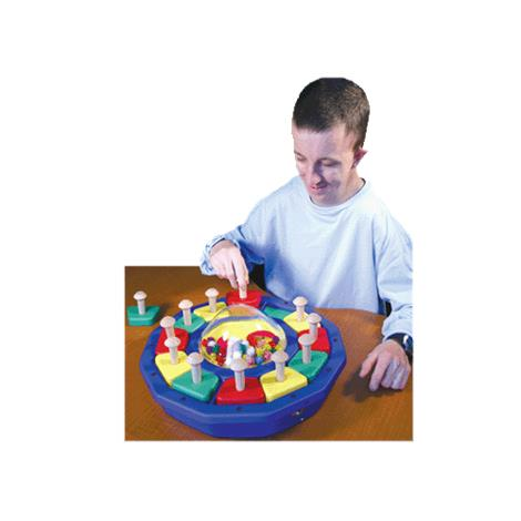 Kaleido-dome with Shapes Sensory Toy,Kaleido-dome with Shapes,Each,778 ENA778