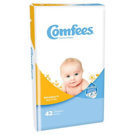 Attends Comfees Diapers,Size 7,Over 41 lbs,20/Pack,4PK/Case,CMF7