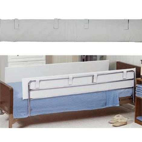 Blue Chip Bed Bumpers,Crib Bumper with Ties,26 x 50 x 8 x 2,Each,BCM217
