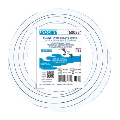 Urocare Drainage Tubing,10ft long,Each,600831