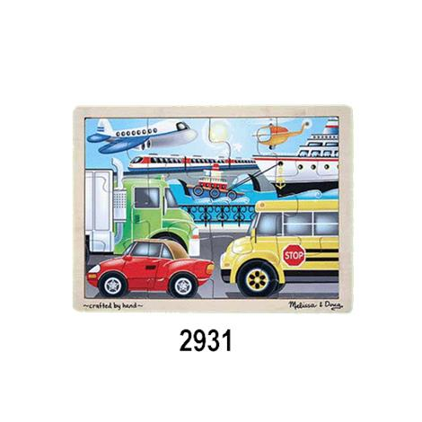 Melissa & Doug Jigsaw Puzzle,Construction Site,Each,2933