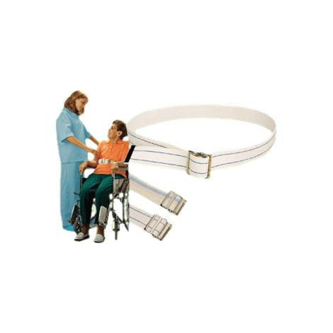 Humane Restraints Cotton Web Belts,6ft,Pastel Strip,Each,HRC-PS6