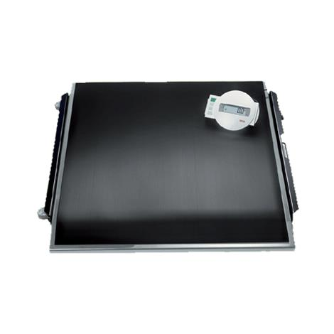 """Seca Electronic Platform Scale With Wired Remote Display,35.6""""W x 2.8""""H x 41.9""""D (904mm x 70mm x 1064mm),Each,SECA674"""