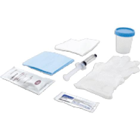 Cardinal Health Foley Catheter Insertion Tray With 10cc Prefilled Syringe,Insertion Tray,Each,CIT10CCBZK
