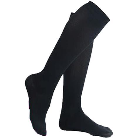 Venosan Supportline Closed Toe Below Knee 18-24mmHg Compression Socks For Women,Medium,Beige,Pair,SG59106