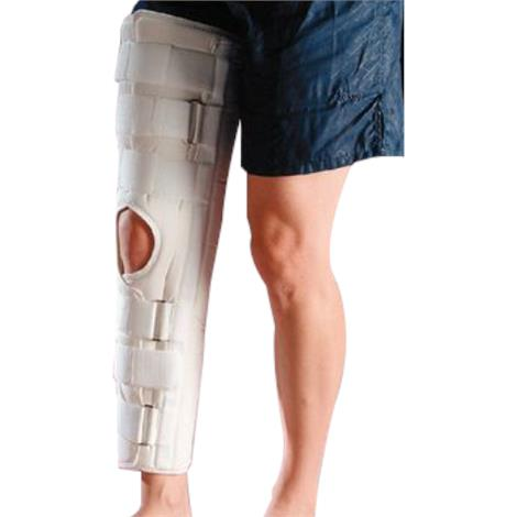 Image of Slip-Resistant Knee Immobilizer,Long,Large,Each,A404114
