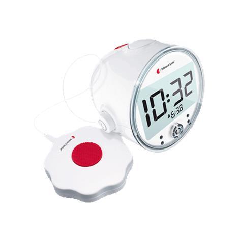 "Bellman Pro Vibrating Alarm Clock With LED Flashing Lights,4.3""H x 4.7""W x 3.6""D (108mm x 121mm x 92mm),Each,BE1370 HC-BA-PROCLK"