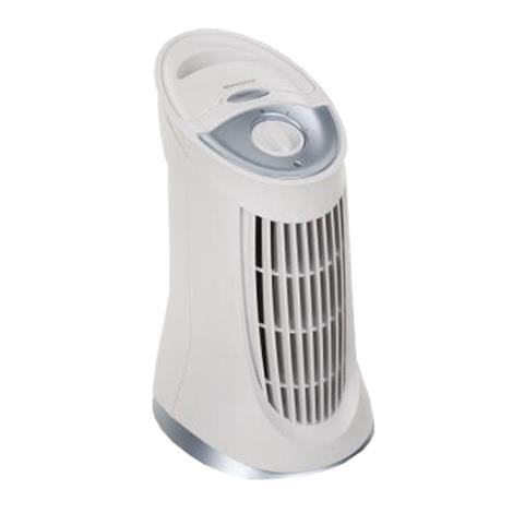 """Honeywell QuietClean Compact Tower Air Purifier with Permanent Filter,9.10""""D x 11.20""""W x 16.70""""H,Each,HFD-010 KUIHFD-010"""