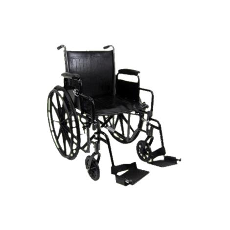 Karman Healthcare Standard Weight Deluxe Wheelchair With Detachable Armrest,0,Each,0
