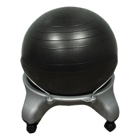 "CanDo Plastic Exercise Ball Stool,24"" x 26"" x 22"",Each,#30-1796"