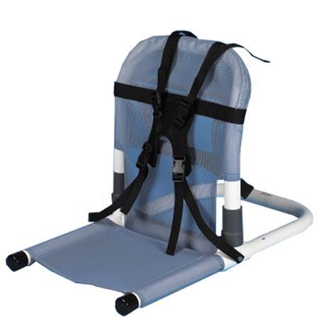 Duralife Collapsible Bath Support,Beige - Mesh,Each,DLF10