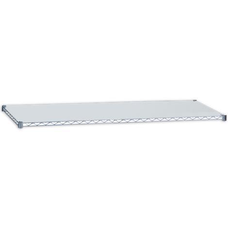 """R&B Solid Shelf,18""""W x 36""""L,Each,SH1836SOL"""