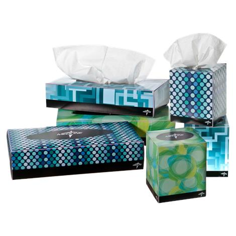 "Medline Premium Facial Tissues,8"" x 8.33"",100/Pack,36Pk/Case,NON245277"