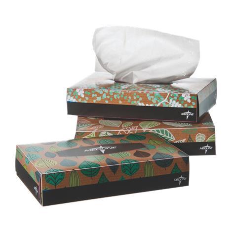 """Medline Standard Facial Tissues,5.7"""" x 7"""",40/Pack,200Pk/Case,NON243275"""