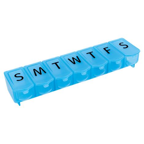 "Apex Ultra Bubble Lok XL Seven Day Pill Organizer,7.63""W x 2""H x 1.38""D,Each,70085"