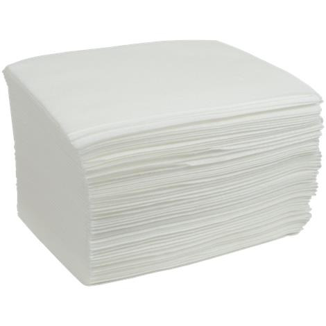 "Cardinal Health White Dry Washcloth,11"" X 13.5"",White,50/Pack,AT913"