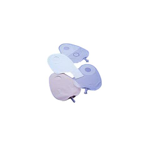 """Torbot Feather-Lite Two-Piece Ileostomy Pouches,Center Spout,22oz,White,5.25"""" x 13"""",6/Pack,TSN251500"""