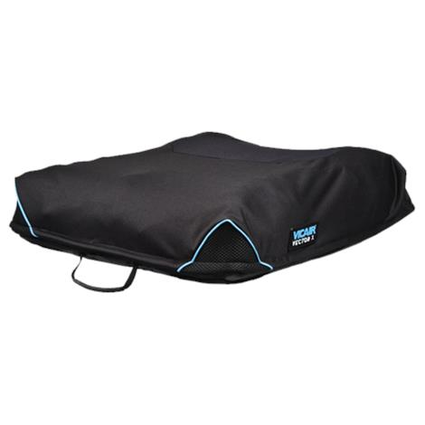 The Comfort Company Vicair Technology Vector X Cushion with Comfort-Tek Cover,20W x 16L,Each,VTX-F-2016