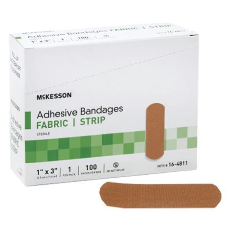 McKesson Sheer Patch Fabric Adhesive Bandage,2