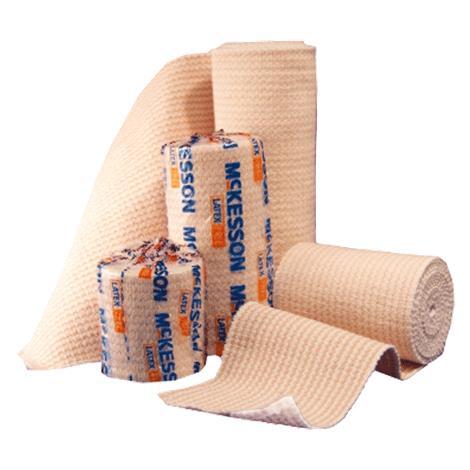 McKesson Medi-Pak Elastic Knit Bandages With Hook and Loop Closure,2