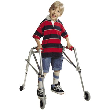Kaye PostureRest Four Wheel Walker With Seat And Installed Silent Rear Wheel For Children,0,Each,W1BHRX