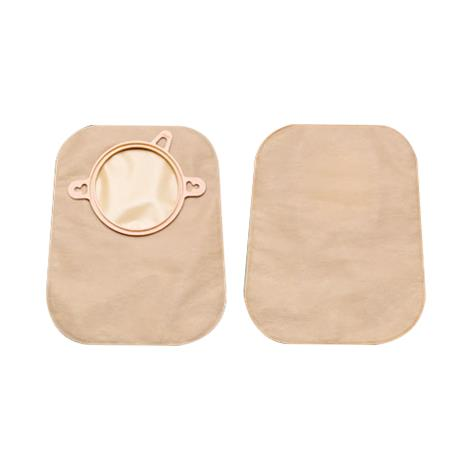 """Hollister New Image Two-Piece Beige Mini Closed-End Pouch With ComfortWear Panels,Blue,2.75"""" (70mm) Flange Size,30/Pack,18354"""