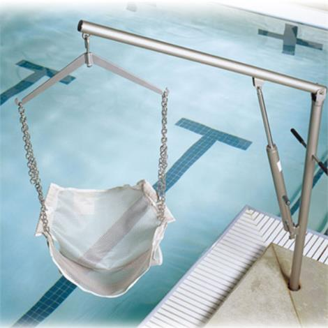 Hoyer Classics Hydraulic Pool Lift,With Sling and Chain,Each,SS-HSP-1