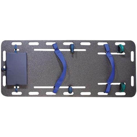 """Humane Restraint Fully Equipped Humane Transport Safety Board,24""""W x 72""""L,Weight: 75lb,Each,HST-200"""