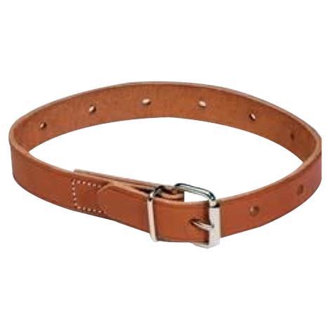 "Humane Restraint Leather Non-Locking Roller Buckle Belt,18"" Long,Each,B-218"
