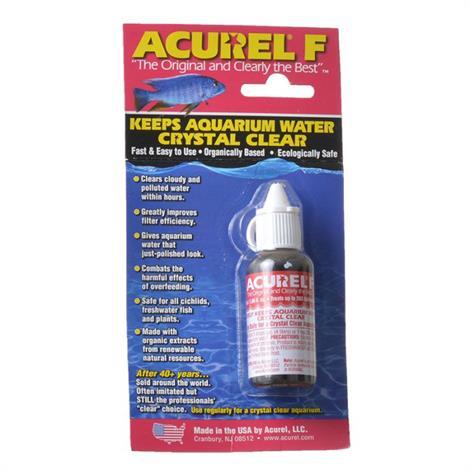 Acurel F Aquarium Clarifier,25 mL,Each,F25