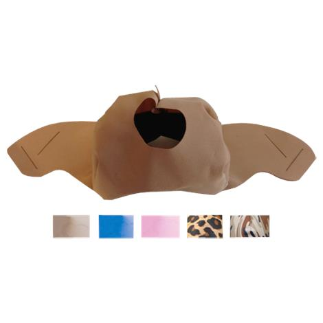 SleepWeaver Elan Soft Cloth Nasal Mask Cushion,Blue,Large,Each,100664