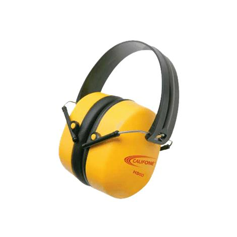 Califone Hearing Safe Hearing Protector Headphone,Bright Yellow,3/Pack,HS60