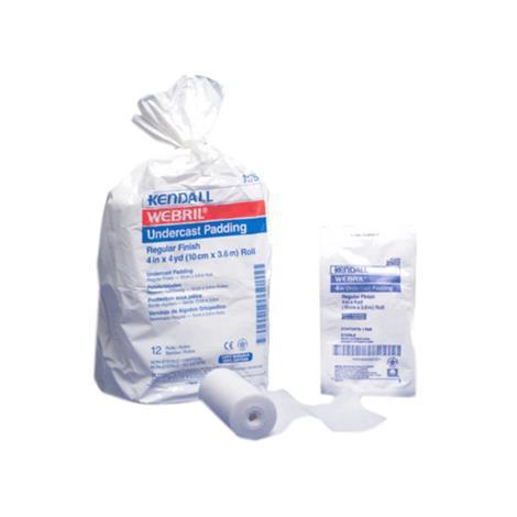"""Covidien Kendall Webril 100% Cotton Undercast Padding,2"""" X 4Yd (5.1Cm X 3.7M),Non-Sterile,24/Pack,1418"""