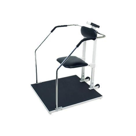 Detecto Bariatric Flip Seat Chair Scale,Capacity: 1,000 lb x 0.2 lb / 450 kg x 0.1 kg,Each,6868
