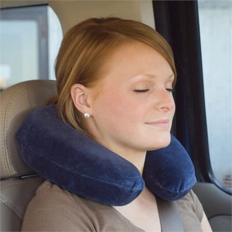 """Core Memory Travel Core Neck Pillow,18"""" x 9"""" (46cm x 23cm),Each,FOM-193"""