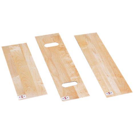 "Hausmann Hardwood Transfer Board,Without Cutouts,8"" x 24"",Each,5087"