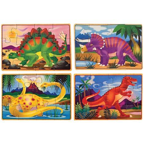 Melissa & Doug Dinosaur Jigsaw Puzzles In A Box,2.5 x 6 x 8,Each,3791