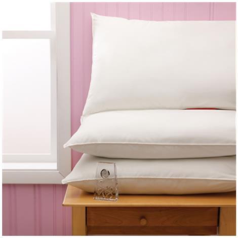 Medline Velvet Soft Reusable Pillows,18 x 24,16oz Polyster Fill,20/Pack,MDT219707