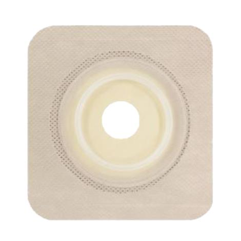 """Genairex Securi-T Two-Piece Flat Standard Pre-Cut Wafer with Flexible Collar,Stoma Opening: 1-1/4"""" (32mm),10/Pack,7332134"""