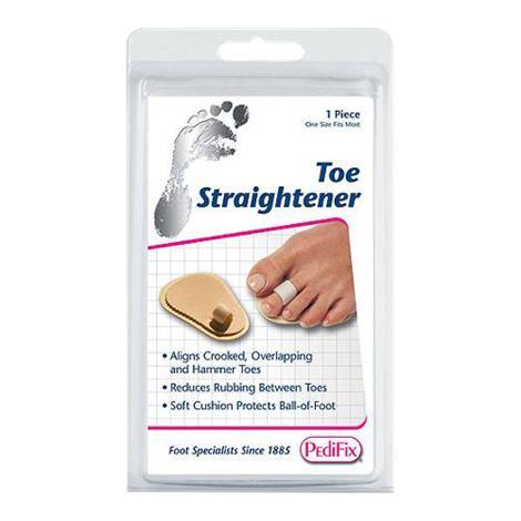 Pedifix Podiatrists Choice Toe Straightener,Single-Toe,One Size Fits Most,Each,P55