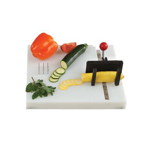 """Swedish One-Handed Food Preparation Cutting Board,12""""L x 11""""W (30 x 28cm),Each,NC28502"""
