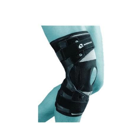 M-Brace OA Knee Brace with Range of Motion,Left Medial or Right Lateral,Large,Each,81624675
